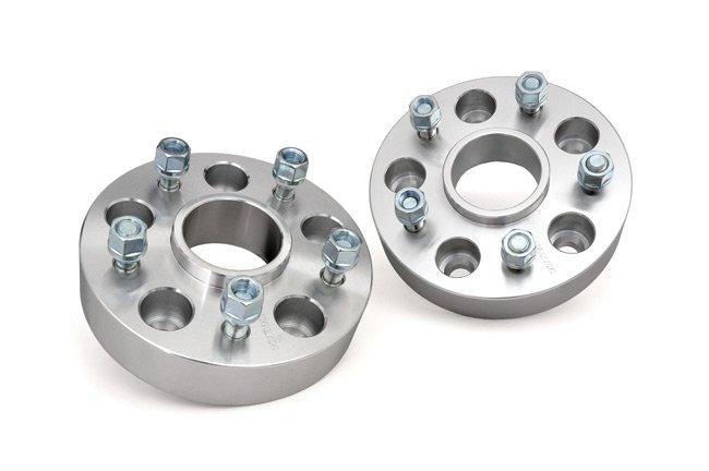 1.5-inch Wheel Spacers (Pair, Aluminum)