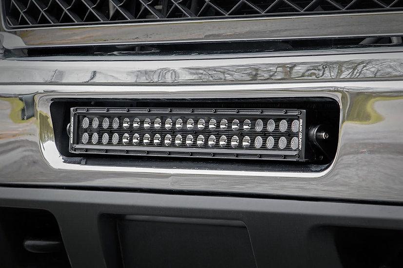 Chevrolet 20-inch LED Light Bar Hidden Bumper Mounts (11-14 2500HD)