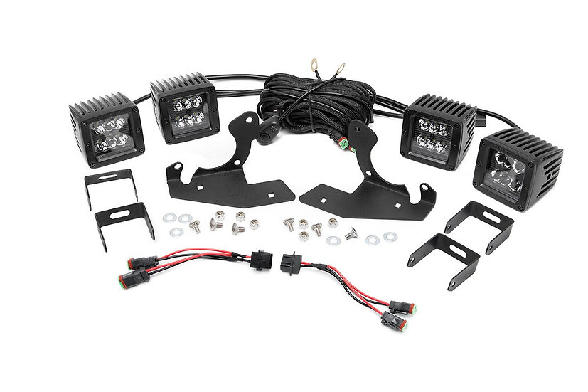 Chevrolet LED Fog Light Kit | Black Series (11-14 Silverado HD)