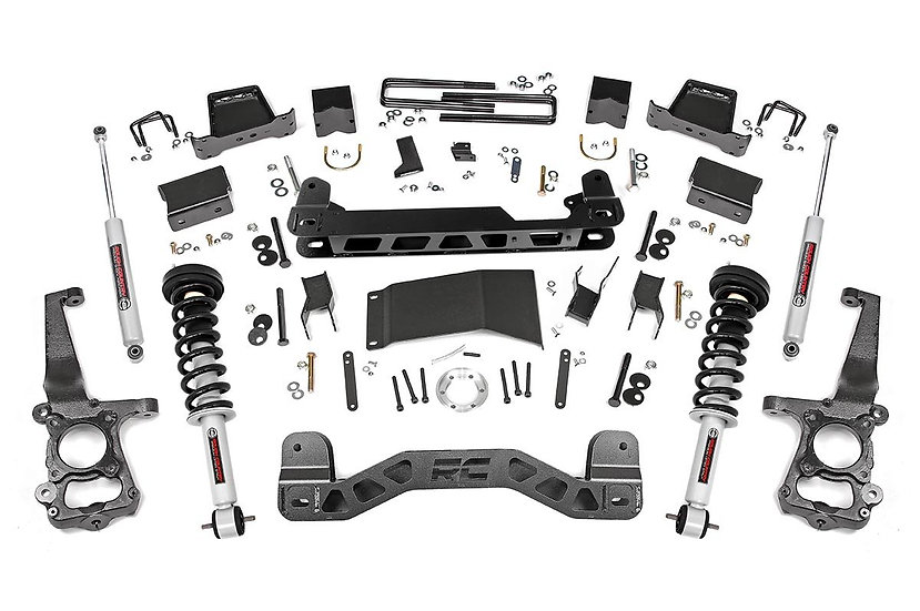 6in Ford Suspension Lift Kit | Lifted Struts (15-20 F-150 4WD)