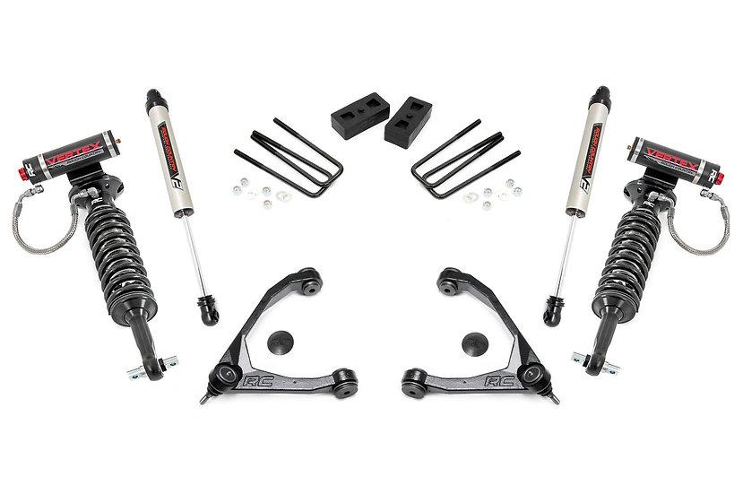 3.5in GM Suspension Lift Kit w/ Vertex and V2 Shocks (07-16 1500 PU 2WD)