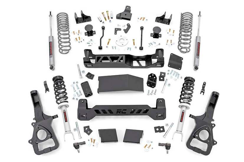 6in Ram Suspension Lift Kit w/ Loaded Struts & N3 Shocks (19-21 Ram 1500 4WD)