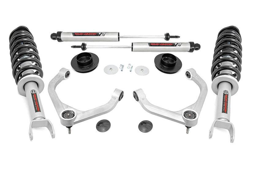 3.5in Ram Bolt-On Lift Kit w/ N3 Struts and Rear V2 Shocks (19-21 Ram 1500 4WD)