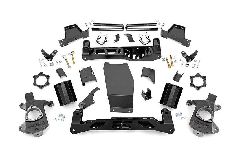 7in GMC Suspension Lift Kit (14-16 1500 Denali PU 4WD w/MagneRide | Steel)