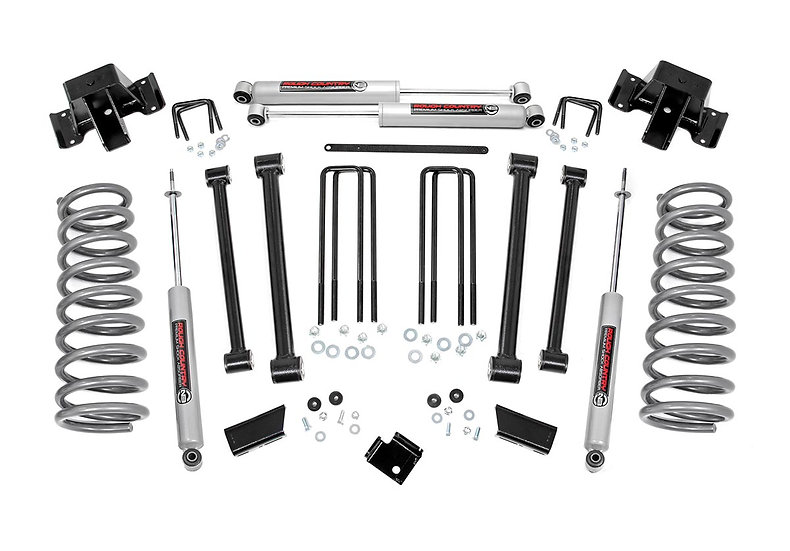 3in Dodge Suspension Lift Kit (94-02 Ram 2500 4WD)