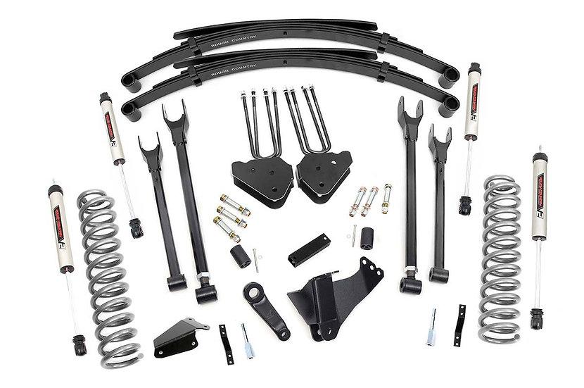 6in Ford 4-Link Suspension Lift System w/V2 Shocks (05-07 F-250/350 4WD)