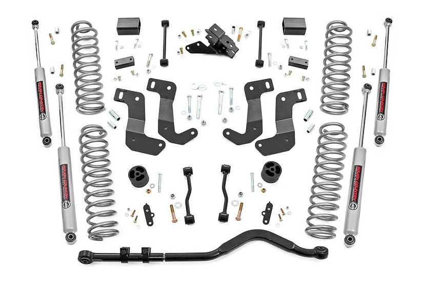 3.5in Jeep Suspension Lift Kit | Control Arm Drop (18-21 Wrangler JL)