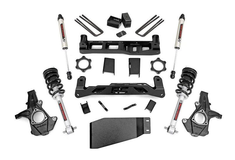 5in GM Suspension Lift Kit w/V2 Shocks & Struts (07-13 1500 PU)