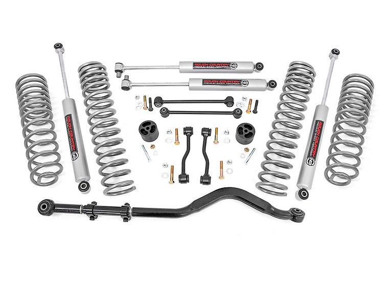 3.5in Jeep Suspension Lift Kit | Coil Springs (20-21 Gladiator)