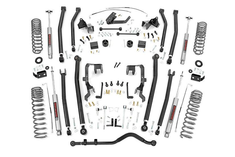 4in Jeep Long Arm Suspension Lift Kit (07-11 Wrangler JK | 4-door)