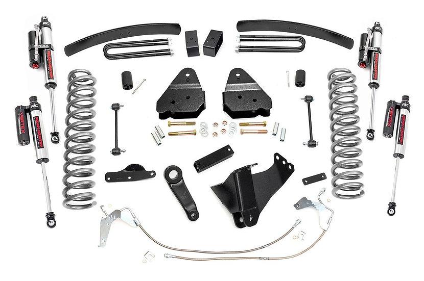 4.5in Ford Suspension Lift Kit W/ Vertex Shocks (08-10 F-250/350 4WD)