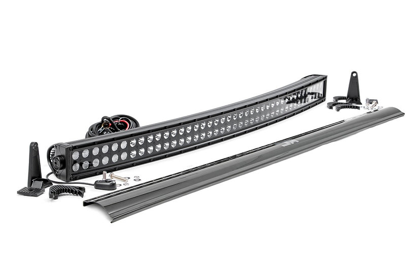 40-inch Curved Cree LED Light Bar - (Dual Row | Black Series)