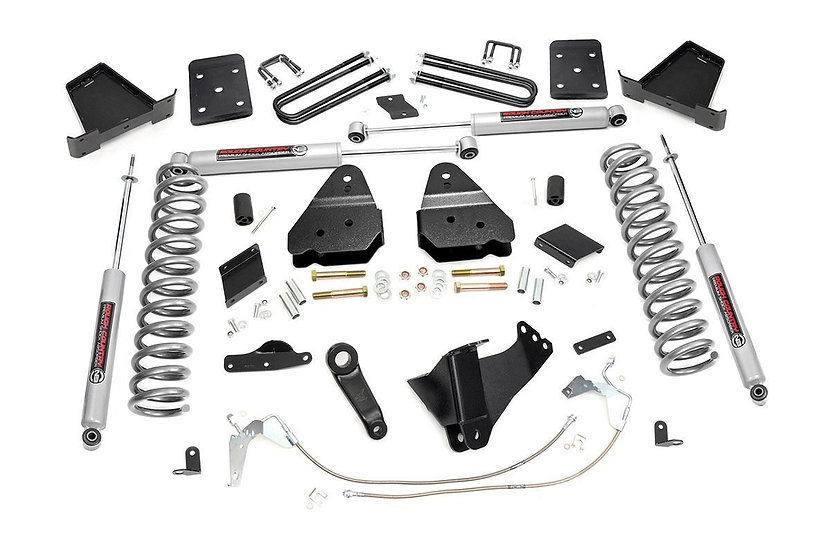 6in Ford Suspension Lift Kit (15-16 F-250   Gas   Overloads)