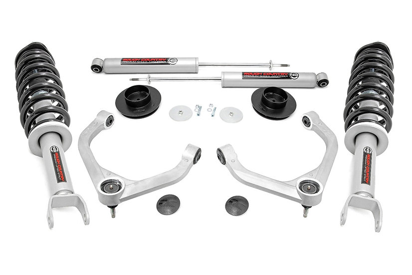 3.5in Ram Bolt-On Lift Kit w/ N3 Struts and Rear N3 Shocks (19-21 Ram 1500 4WD)