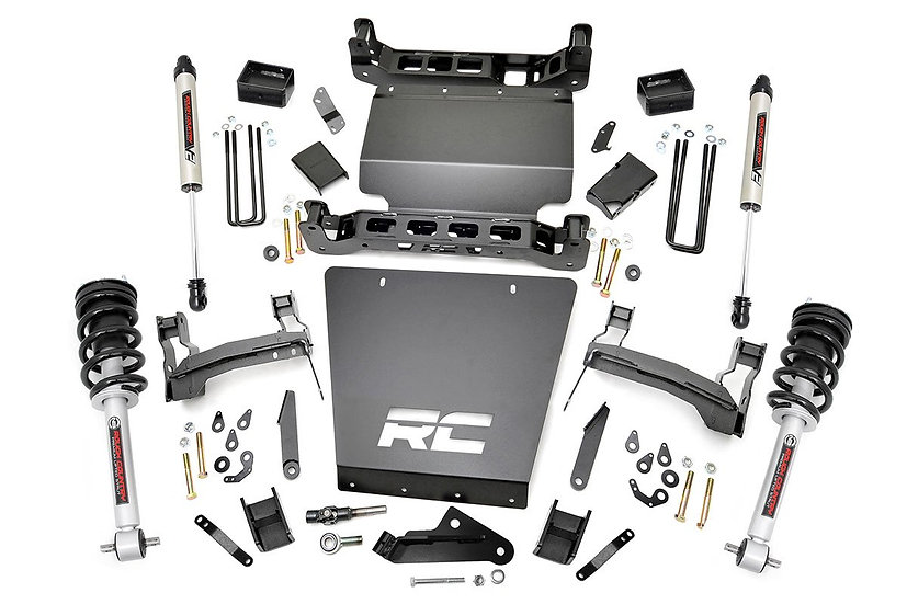 5in GM Suspension Lift Kit w/N3 Struts & V2 Shocks (14-18 1500 PU 4WD)