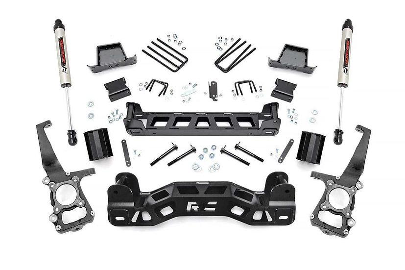 6in Ford Suspension Lift Kit w/ V2 Shocks (09-10 F-150)