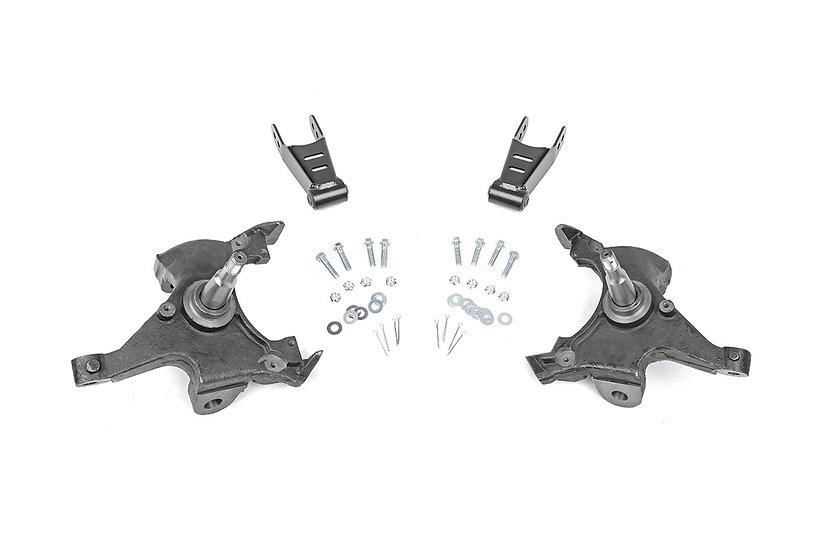 2in / 2in Lowering Kit (88-98 GM 1500 PU)
