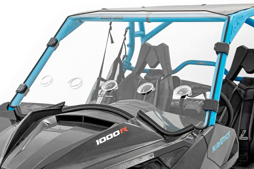 Can-Am Full Scratch Resistant Vented Windshield (13-18 Maverick)