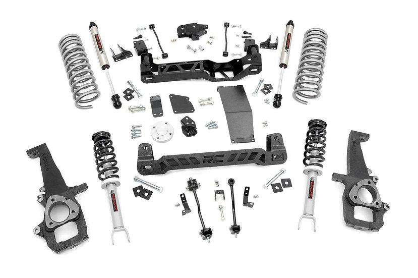 6in Ram Suspension Lift Kit | N3 Struts & V2 Shocks (12-18 1500 4WD)