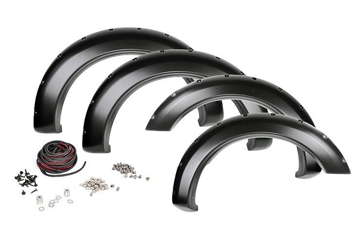 Dodge Pocket Fender Flares w/Rivets (02-08 Ram 1500 | 03-09 Ram 2500/3500)