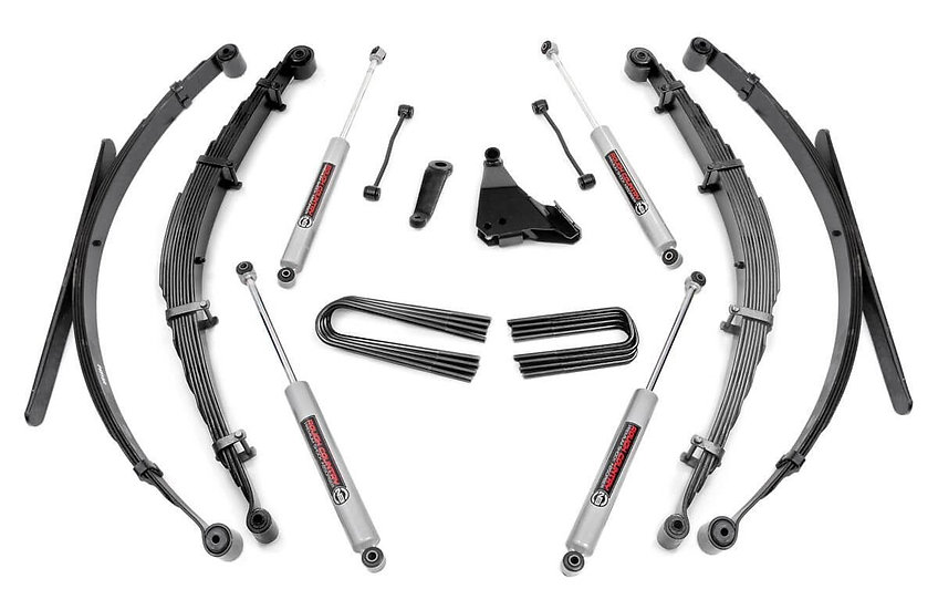 6in Ford Suspension Lift System