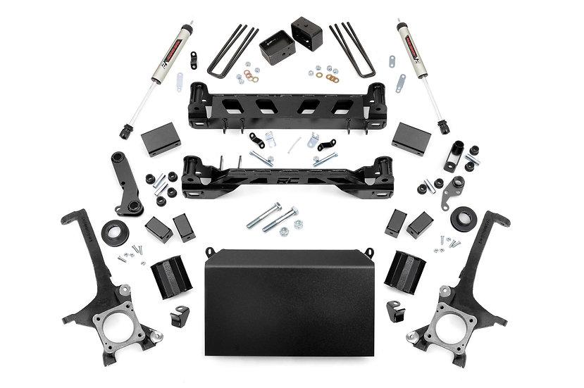 6in Toyota Suspension Lift Kit w/ V2 Shocks (07-15 Tundra)