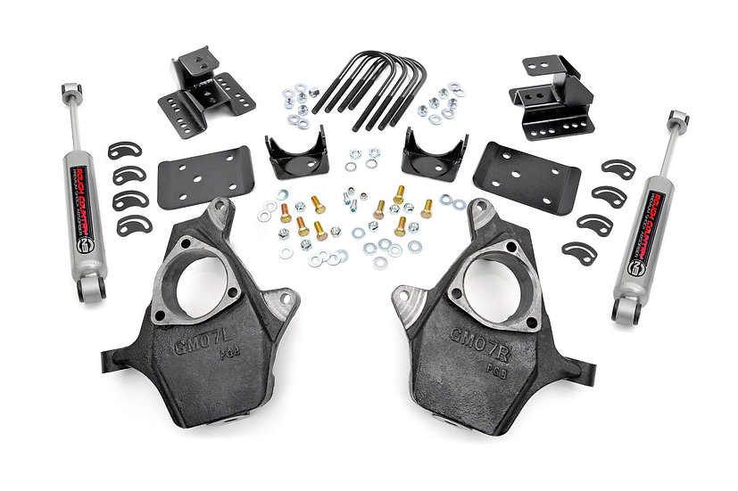 2in / 4in GM Lowering Kit