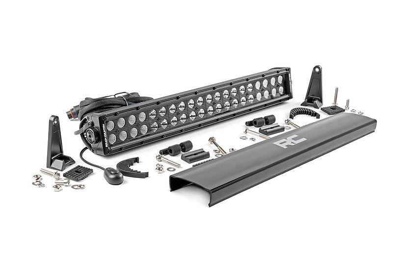 20-inch Cree LED Light Bar - (Dual Row   Black Series)