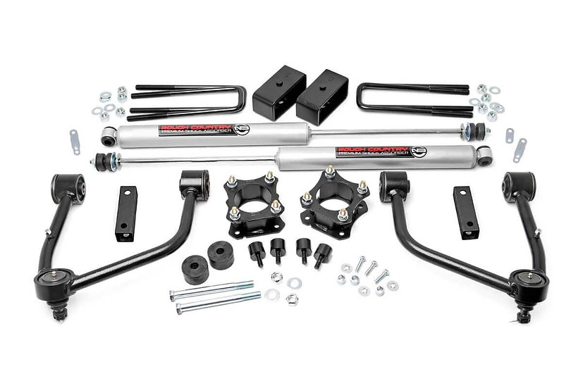 3.5in Toyota Bolt-On Lift Kit w/N3 Shocks (07-20 Tundra 2WD/4WD)
