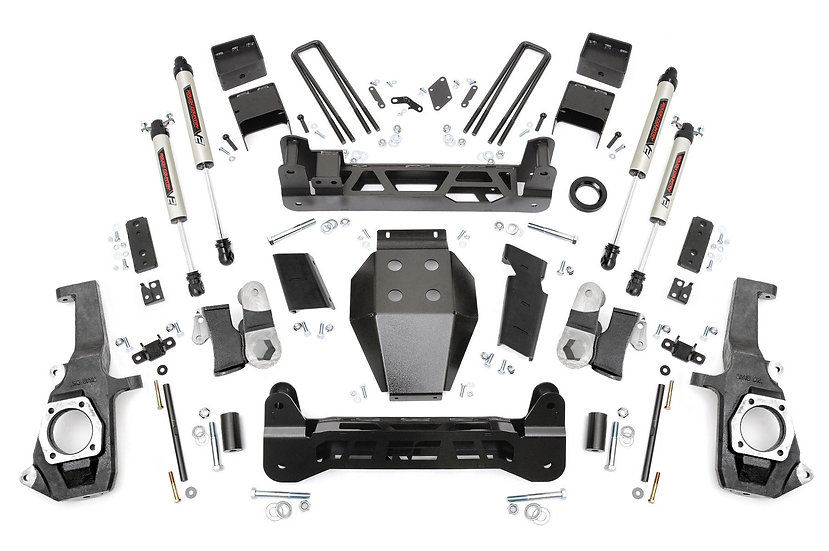 5in GM NTD Suspension Lift Kit / V2 (11-19 2500HD/3500HD)