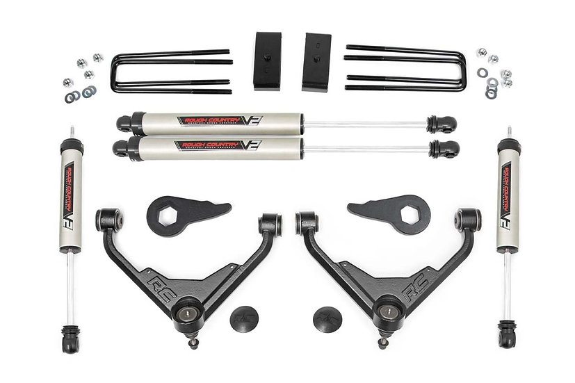 3in GM Suspension Lift Kit (01-10 2500/3500 PU/SUV 2wd/4wd | FK and FF RPO)