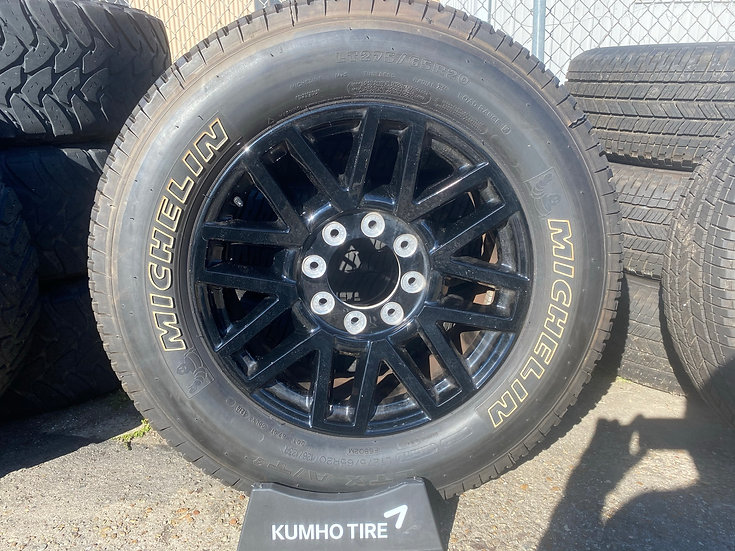 """20"""" Black Ford F-250 Wheel & Tire Package"""
