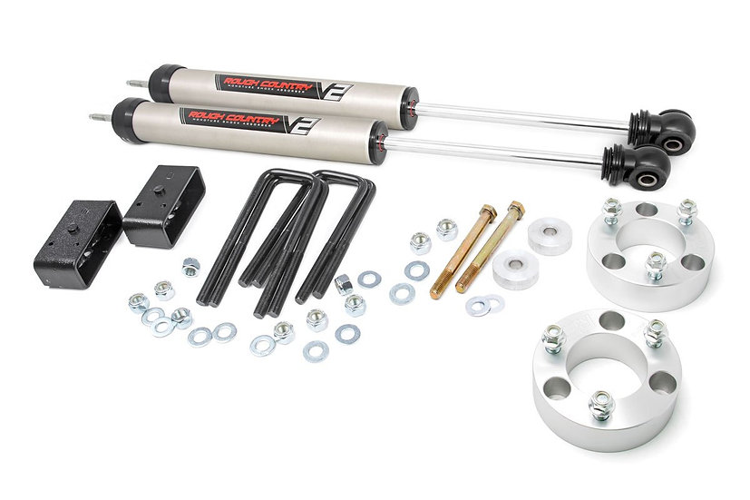 3in Toyota Suspension Lift Kit w/ V2 Shocks (05-21 Tacoma)