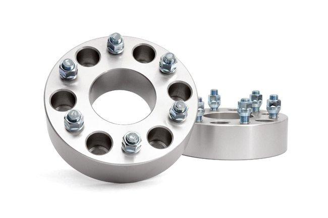 2-inch GM Wheel Spacers (Pair, Aluminum)