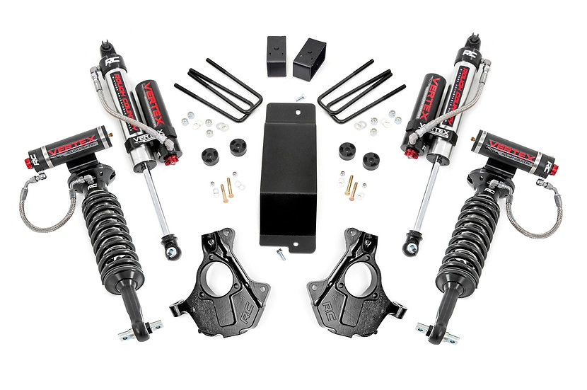 3.5in GM Suspension Lift | Knuckle Kit Vertex (14-18 1500 PU 4wd | Cast Steel)