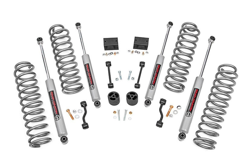 2.5in Jeep Suspension Lift Kit | Springs (18-21 Wrangler JL)