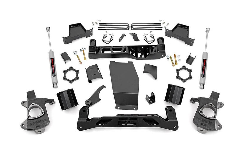 6in GM Suspension Lift Kit w/N3 (14-17 1500 PU 4WD | Cast Steel)