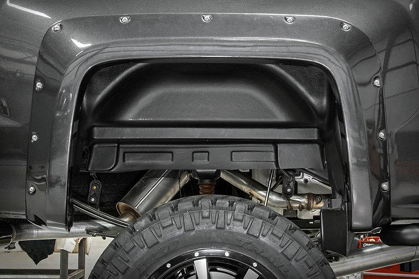 Chevrolet Rear Wheel Well Liners (15-19 2500HD/3500HD PU)