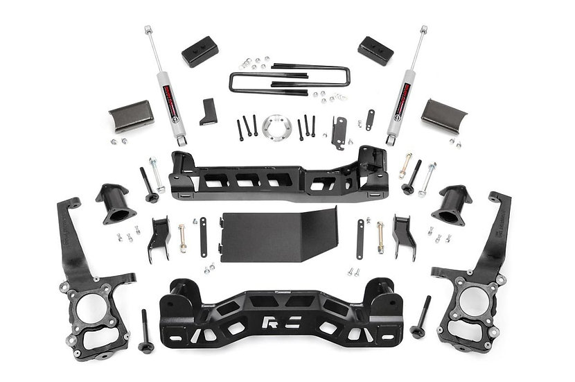 4in Ford Suspension Lift Kit | Strut Spacers (09-10 F-150 4wd)