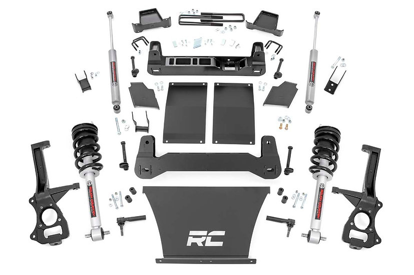 6in Suspension Lift Kit   Lifted Struts (19-21 Chevy 1500 PU 4WD/2WD)