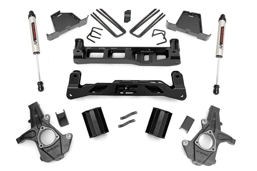 7.5in GM Suspension Lift Kit w/V2 Shocks (07-13 1500 PU)