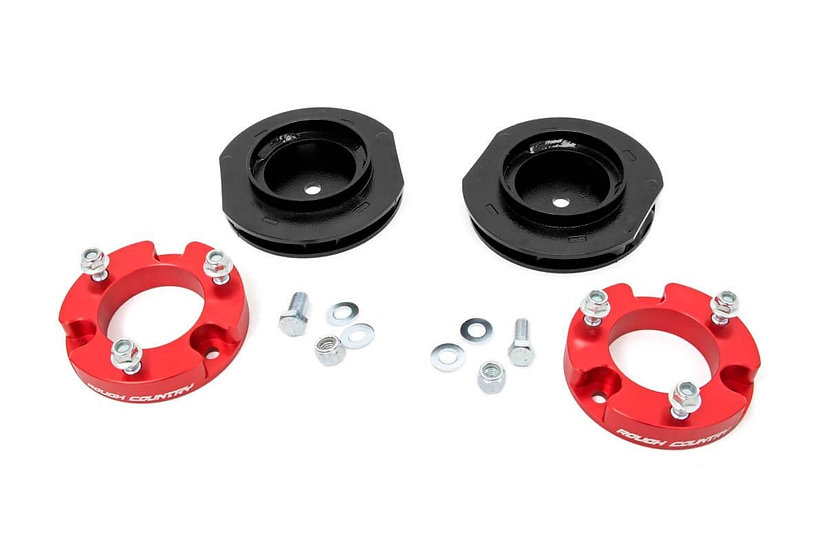 2in Toyota Suspension Lift Kit   Red (07-14 FJ Cruiser 4WD/2WD)