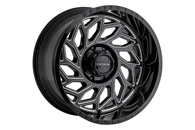 Centerline 846BM LT6 Wheel, 20X12 (8x6.50)