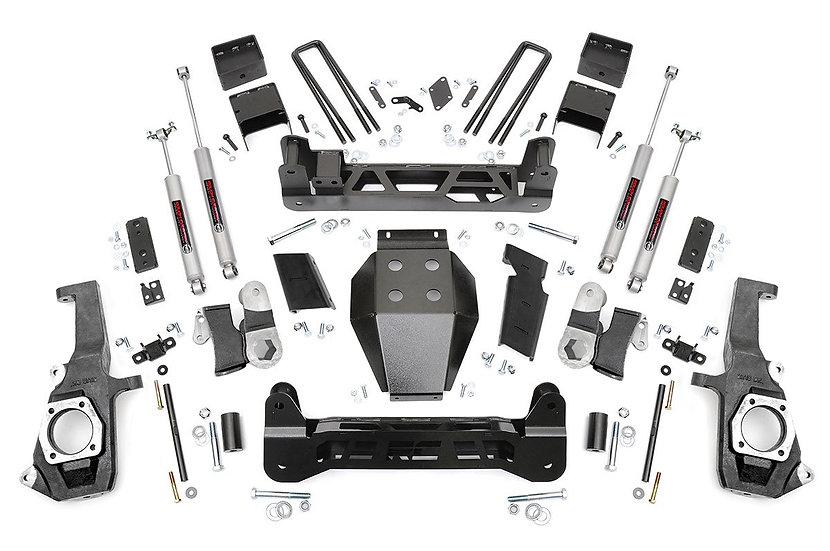5in GM NTD Suspension Lift Kit (11-19 2500HD/3500HD)