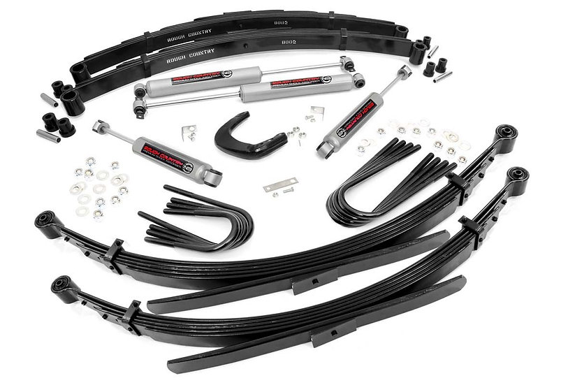 4in GM Suspension Lift System (52in Rear Springs)