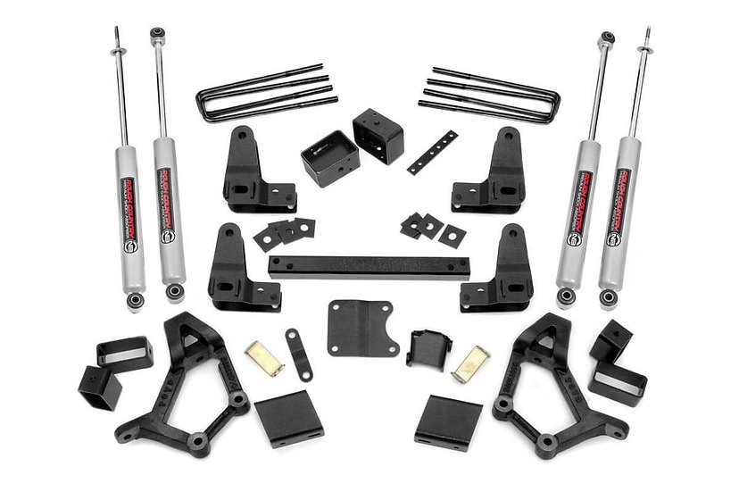 4-5in Toyota Suspension Lift Kit (Ext Cab)