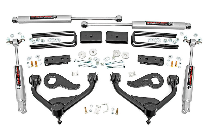 3in GM Bolt-On Suspension Lift Kit (20-21 2500HD 2WD/4WD)