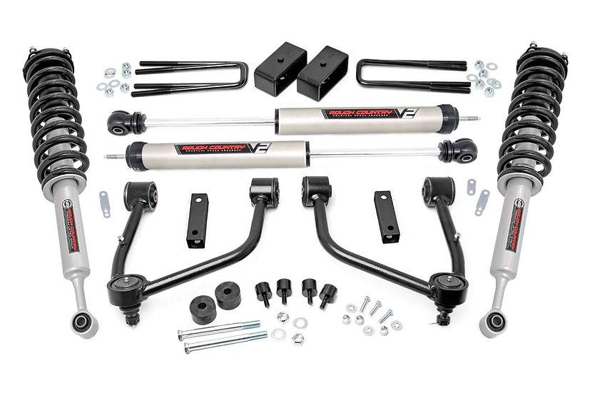 3.5in Toyota Bolt-On Lift Kit w/Lifted Struts & V2 Shocks (07-20 Tundra 4WD)