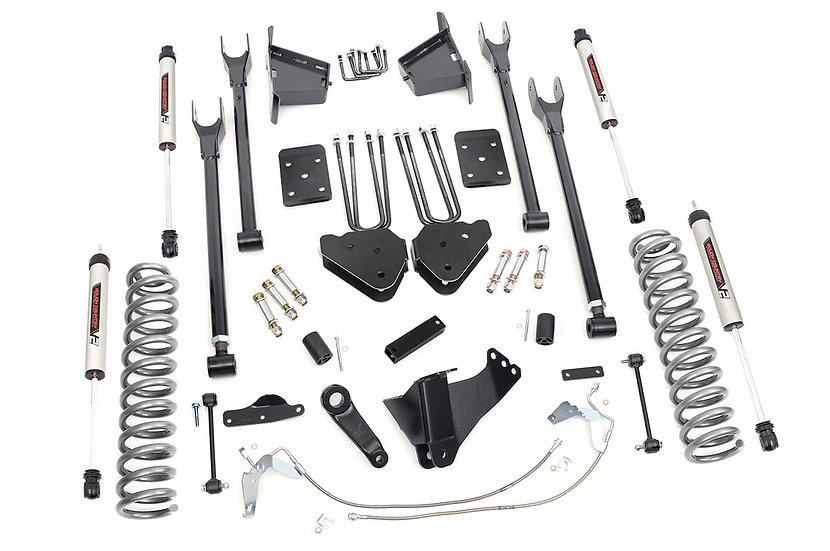8in Ford Suspension Lift Kit | 4-Link w/V2 Shocks (08-10 F-250/350 4WD)