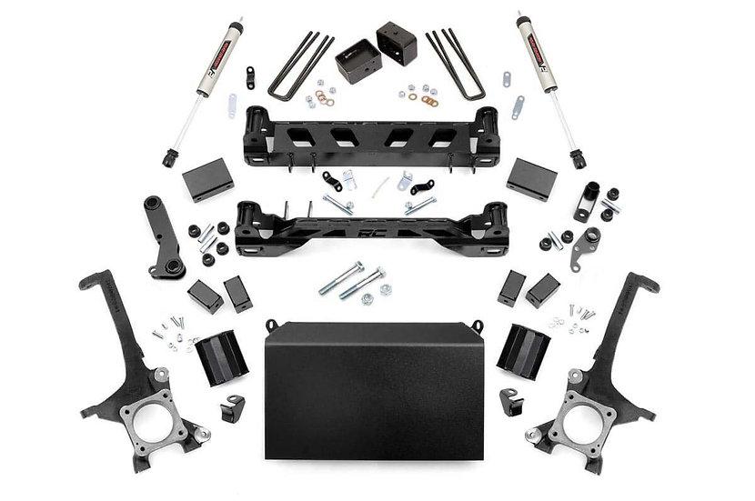 4.5in Toyota Suspension Lift Kit w/ V2 Shocks (07-15 Tundra)